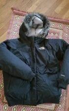 The North Face HyVent light weight Black Hooded Jacket  Sz XL Girls M women. Min