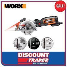 WORX Electric 120mm 710W Worxsaw XL Handyman Handy Circular Saw Kit - WX427