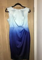 Blue Ombre Bodycon Dress From Coast Uk Size 12