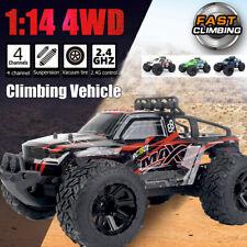 2.4 Ghz 4WD 1:14 RC Truck Ferngesteuertes Auto Geländewagen für Kinder