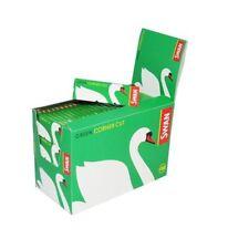 Swan Regulär Grün Ecke Schnitt Zigarette Roll Papier 100 Booklets (5000 Papiere
