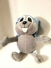 """Rocky And Bullwinkle Show Squirrel 12"""" Plush 2001 Toy Network"""