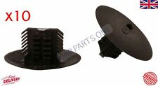 10x Fit Renault Clio Megane Scenic Mudguard Retainer Clips Black Plastic