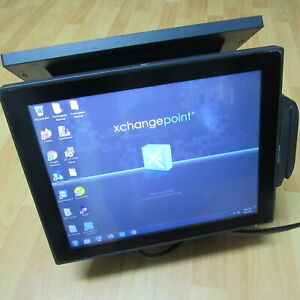 """Aures POS system J2 625 15"""" InTouch screen CPU D2550_2GB/500GB/W7 _GOOD"""