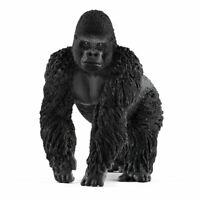 Schleich Selvatico Life Maschio Gorilla Figura Giocattolo (14770)
