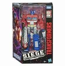 Transformers Optimus Prime SIEGE War for Cybertron Voyager Action Figure Toy S11