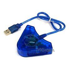 Convertitore PS-PS2 A USB PC X 2 JOYPAD PLAYSTATION NEW