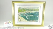 Vintage Dick Sussman Signed and Numbered 7/90 Lithograph Ocean Beach Palm Laguna