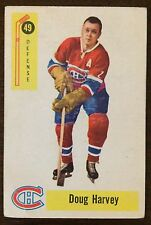 1958-59 Parkhurst Hockey Card #49 Doug Harvey
