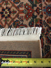 Authentic Hand knotted super soft Persian all-over Herati design rug 9'X12' mint