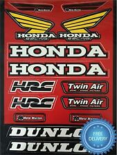 4MX Adhesivo Calcomanía HRC Dunlop Twin Air M Master se ajusta XR 600 R 91-03