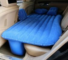 Thickened flocking integrated vehicle inflatable bed travel bed portable bed