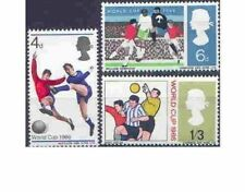 Great Britain 1966 WORLD CUP (PHOSPHOR) (3) Unhinged Mint SG 693p-695p
