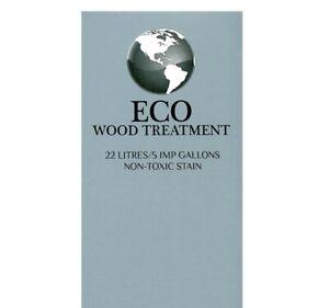 Eco Wood Treatment, 5 Gallon, VOC Free, Eco Friendly, Eco Safe, Wood Treatment