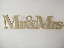 Onorevole & Mrs Firmare UNITA 120mm High 12mm di spessore