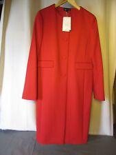manteau rouge agnès b taille 38