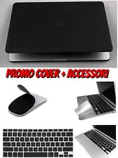 CUSTODIA COVER PER MACBOOK AIR 13 PLASTICA RIGIDA GOMMATA +ACCESSORI A SCELTA