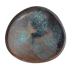 Untersetzer blau Metall für Tassen Gläser