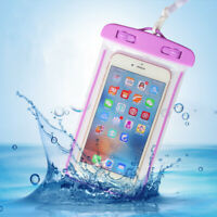 Underwater Pouch Dry Bag Case Waterproof Fit iPhone Samsung LG Smart Phone Cover