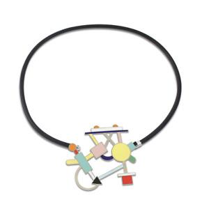 "Vintage ACME Studio ""Morgana"" Necklace by MEMPHIS Designer Marco Zanini NEW"