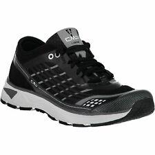 CMP Zapatillas Deportivas Correr Libre Running Zapatos Negro Ligero Liso Malla