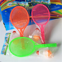Kids Outdoor Badminton Tennis Set Racket Parent-child Sport Educational Toys XJ