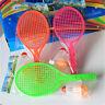 Kids Outdoor Badminton Tennis Set Racket Parent-child Sport Educational Toys UQ