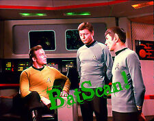STAR TREK 1968 Original Film Slide AND Color 5x7 Photo #80  Kirk, Bones & Spock!