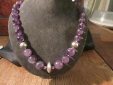 Necklace Amethyst Necklace/Choker Art Deco Fine Jewellery