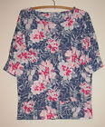 Ladies W LANE Floral Top Size S (10)