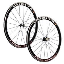 VUELTA 28 Zoll System Fahrrad Rennrad Laufradsatz RaceTec Airo-Felgen schwarz