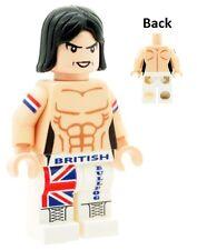Custom Designed British Bulldog (Davey Boy Smith) Wrestler Printed on LEGO Parts