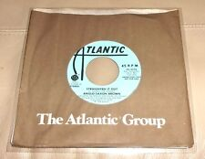 Anglo Saxon Brown Straighten It Out NM Promo