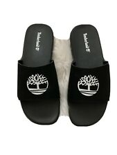 Men's Timberland Fells Slide Sandals Black/White Style: AIXBN