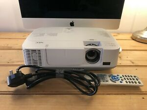 NEC Home HDMI Projector M271X with Remote, Power Cable 78% Lamp Life Remaining