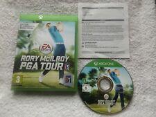 RORY McILROY PGA TOUR XBOX ONE V.G.C. FAST POST ( sports/golf simulation game )
