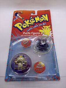 1999 Hasbro Pokemon Battle Figures Poke Ball Discs New *read desc* Gengar Meowth