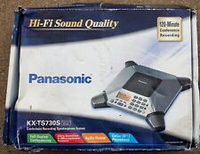 New listing Panasonic Kx-Ts730S 8-Microphone Conference Speakerphone New in Open Box Packing