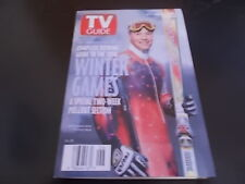 1998 Winter Games, Tommy Moe - TV Guide Magazine 1998