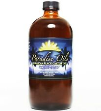 Paradise Oils Jamaican Black Castor Oil 16oz ROSEMARY 100% Natural FREE SHIPPING