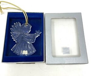 Mikasa Christmas Holiday Angel w/ Star Ornament Joyous Collection 2000 With Box