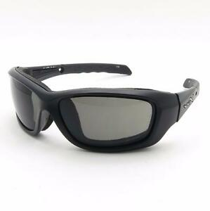 Wiley X Titan Polarized Grey Lens Gloss Black FramePolbrille