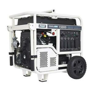 15,000 Watt Dual Fuel Propane/Gasoline Portable Generator PG15KVTWB
