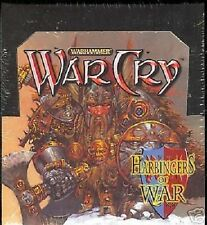 WARCRY 40 BOOSTERS HARBINGERS OF WAR +1 PROMO