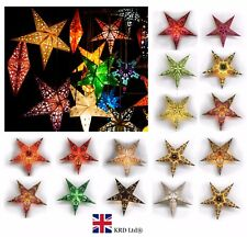 60cm STAR Hanging Light Ceiling Lamp Shade Paper Lantern Christmas Decor Gift UK