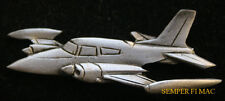 CESSNA 310 LAPEL  HAT PIN PEWTER AIRPLANE PLANE PILOT WING GIFT MADE IN US WOW