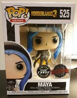 RARE Maya Chase GLOW GITD Funko Pop Vinyl New in Mint Box  + Protector