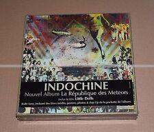 INDOCHINE  --- LA RÉPUBLIQUE DES METEORS  --- BOX DELUXE  NEUVE SCELLÉE