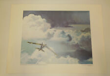 US Air Force ART COLLECTION  Print PUT OUT MY HAND & TOUCHED THE FACE OF GOD