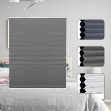 Wabenplissee ohne Bohren mit Klemmträger Sonnenschutz Plisseerollo Fenster